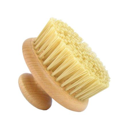 I use this particular body brush, but any brush with soft bristles that won't scratch you, is great!
