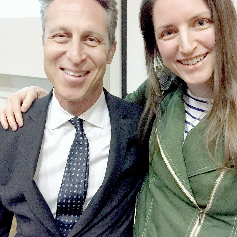 Myself and Dr Mark Hyman in London this year